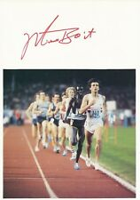 Mike Boit  Kenia Leichtathletik 3.OS 1972  Karte  original signiert WL 344256