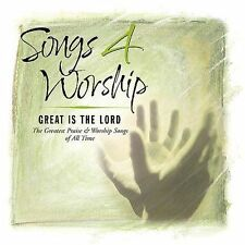 NEW Songs 4 Worship: Great Is The Lord (Audio CD)