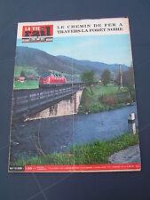 Vie du rail 1968 1128 SCHWARZWALDBAHN HORNBERG NUSSBACH DONAUESCHINGEN BIBERACH