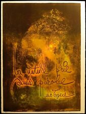 """Le Ba Dang  Art Lithograph from """"Nature Prays Without Words"""" suite Signed OBO"""
