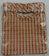 Longaberger Dresden Homested Basket Liner Red Plaid Collectible Accessory Decor
