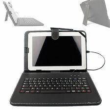 AZERTY Black Faux Leather Case With Keyboard For Lenovo TAB 2 A10-70 Tablet