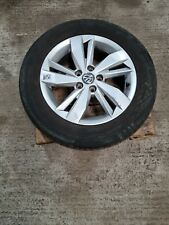 """FOR 2017 VOLKSWAGEN POLO 15"""" ALLOY WHEEL TYRE NO GOOD 185/65/15 2G0601025N"""