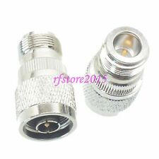 1pce Adapter Connector N male plug to RP-N female plug straight for Wifi