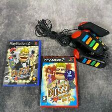 Buzz 4 Summer & Spielepaket Playstation 2 ps2 Hollywood Musik Quiz Familie Spaß