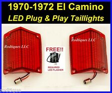 1970-1972 Chevy El Camino LED Taillights & Flasher Simple Plug & Play