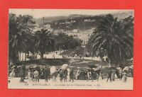 MONTE CARLO - Les jardins pris de l'entrée du casino  (J1130)