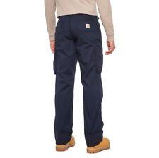 NWT Carhartt 103903 Loose Fit Force Broxton Cargo Navy Pant Men's 30x30 $54.99