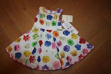 Monnalisa Bebe Kleid Traumkleid Blumen  🌺 6 Monate 68  🌺NEU Blumenkleid