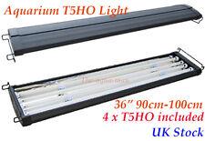 """T5 Aquarium 36"""" saltwaterFish Tank Overhead Lighting FOUR Tubes 90cm 100cm"""