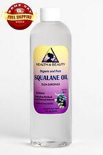 SQUALANE OIL ORGANIC OLIVE-DERIVED ANTI-AGING MOISTURIZER COLD PRESS PURE 24 OZ