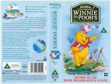 Disney Winnie The Pooh Most Grand Adventure VHS