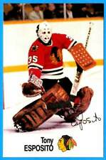 1988-89 Esso All-Stars TONY ESPOSITO (ex-mt) Chicago Black Hawks