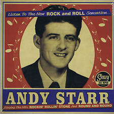 ANDY STARR - ROCKIN' ROLLIN' STONE / ROUND & ROUND - HOT MGM ROCKABILLY - REPRO