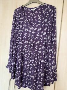 Fat Face Shirt Top Tunic Blouse 14 Maybe 16