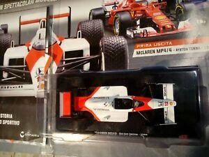 Modellino DIE CAST McLaren MP4/4 Ayron Senna 1988 1/24 Nuovo