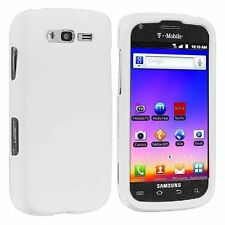 White Samsung Galaxy S Blaze 4G SGH-T769 Faceplate Phone Cover Hard Case Skin
