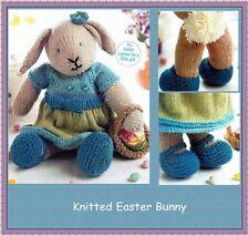 Gorgeous Easter Rabbit knitting Pattern