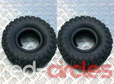 2x KNOBBLY MINI QUAD BIKE TYRES - SIZE 4.10-4 FOR 47cc & 49cc ATV