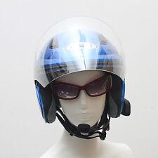 2 PCS 1000M Bluetooth Motorbike Interphone Motorcycle Helmet Intercom Headset