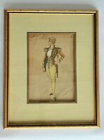 SIGNED - RARE - Original J. Howell Russell - Antique 1893 Watercolor Painting