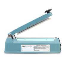 """8"""" Heat Sealing Machine Impulse Sealer Seal Machine Poly Tubing Plastic Bag Kit"""