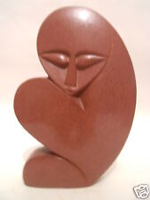 Red Argillite Stone Sculpture Figures Carving Hand Carved in Zimbabwe R#19
