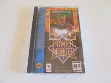 PowerMonger (Sega CD, 1994). Brand New & Factory Sealed. Power Monger.