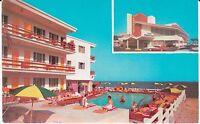 "Miami Beach FL ""The Last Frontier Resort Motel""  Postcard Florida"