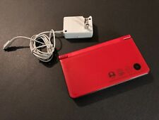 Nintendo dsi ds xl Red Good Condition Works Super Mario Bros 25th Anniversary