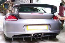 Fiberglass FRP Rear Diffuser for Porsche 987 Cayman