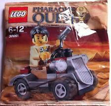 LEGO 30091 Pharaohs Quest Desert Rover 1 Minifigure Polybag NEW & SEALED