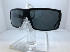 NEW VON ZIPPER SUNGLASSES SNARK PVC SATIN BLACK SILVER FLASH POLARIZED LENS