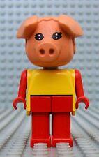 Légo x599c05 Fabuland Personnage Figure Cochon Pig 5 du 3667