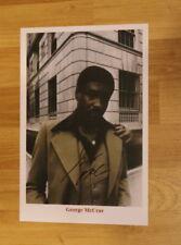 ORIGINAL Autogramm von George McGrae. pers gesammelt. 20x30 Foto. 100% ECHT