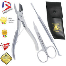 Toe Nail Clippers Cutters Nippers Chiropody Heavy Duty Thick Nail Grip German CE