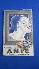 ancien carnet publicitaire tabac cigarette celtique et anic drangy caporal