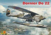 92245 Dornier Do 22 (RS Models, NEW)