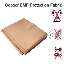 Copper Fabric Blocking Rfid Emf/Emi Protection Radiation/Singal/WiFi Shielding