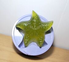 Silicone starfish mold sea shell soap candle mold big size beach theme homemade