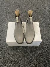 Men's Common projects size Uk6 (40) Chelsea boots Grey Excellent Condition