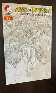 ARMY OF DARKNESS Ashes 2 Ashes #4 (Dynamite Comics) -- Ale Garza Sketch Variant