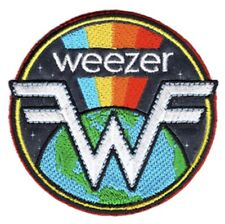 Weezer Earth Rainbow Embroidered Patch W017P