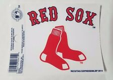 """Boston Red Sox 3 x 4"""" Small Static Cling - Truck Car Auto Window Decal NEW"""
