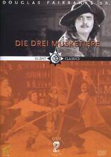 Die Drei Musketiere ( Stummfilm Klassiker ) mit Douglas Fairbanks, Léon Bary NEU