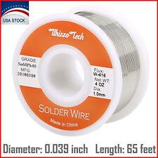 "60/40 Tin Lead Rosin Core Solder Wire Soldering Sn60 Pb40 Flux .039""/1.0mm 100g"