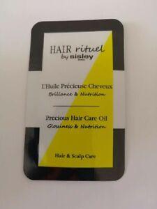 10 x Hair Rituel By Sisley Precious Hair Care Oil 1ml each - 10ml total