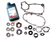 SET: 3-Gang Motor Lager Dichtungsatz Wellendichtringe Öl GL-80W für Simson S50