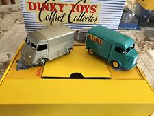 Coffret Collector Dinky Toys Atlas L'indispensable Citroen H HY Cibié au 1/43