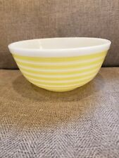 Pyrex Yellow Stripes 403